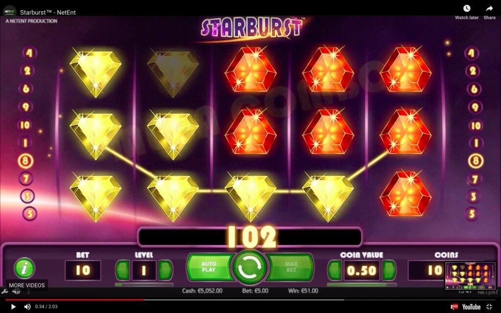 Starburst Slots Game Image