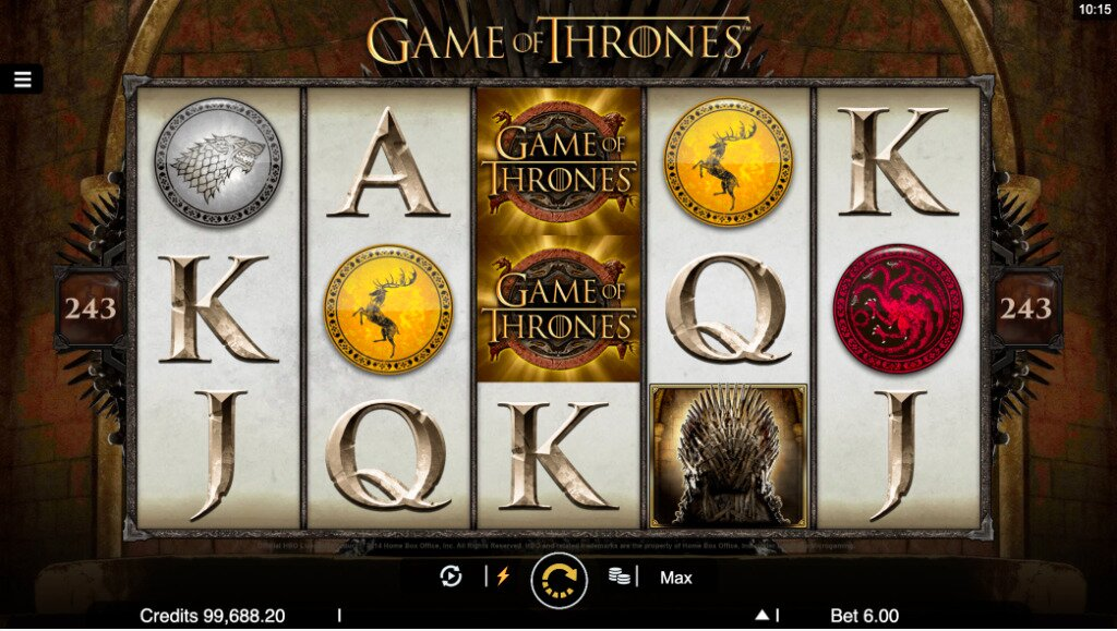Game of Thrones Slots Image