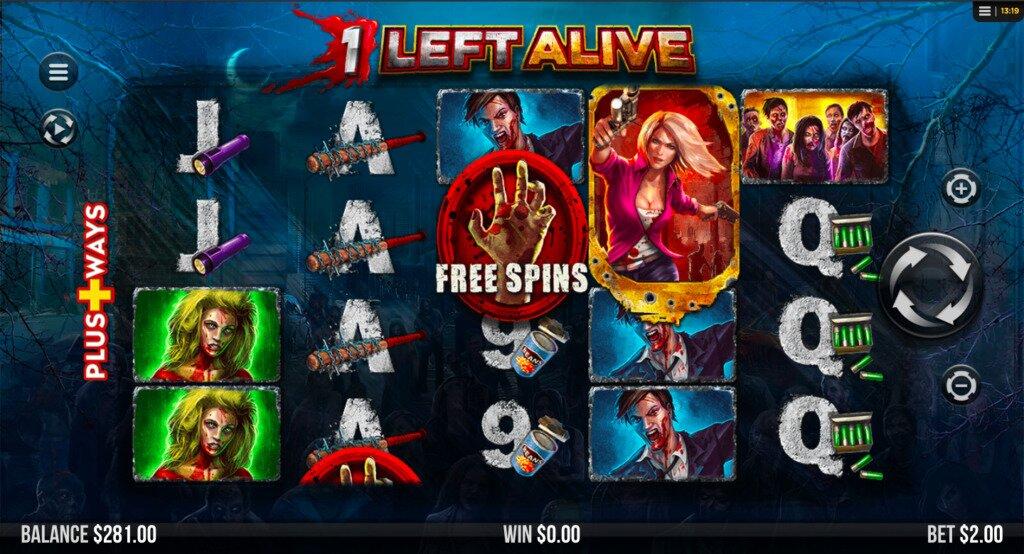 1 Left Alive Slots Game Image