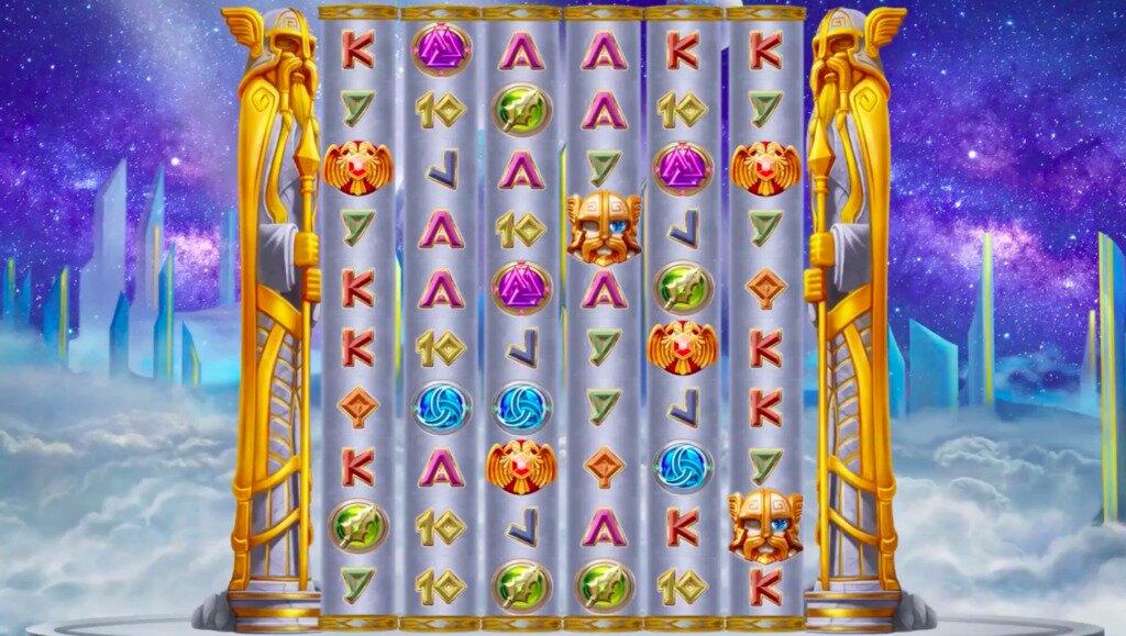 Pillars of Asgard Slots Game Image