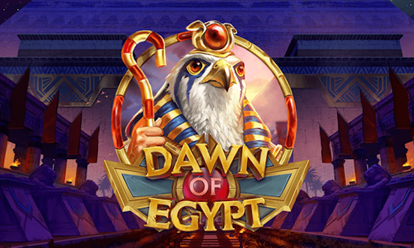 logo for slot game Dawn of Egypt