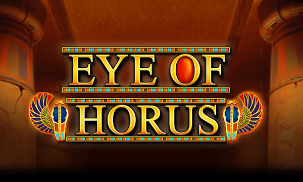 Eye of horus slot game logo