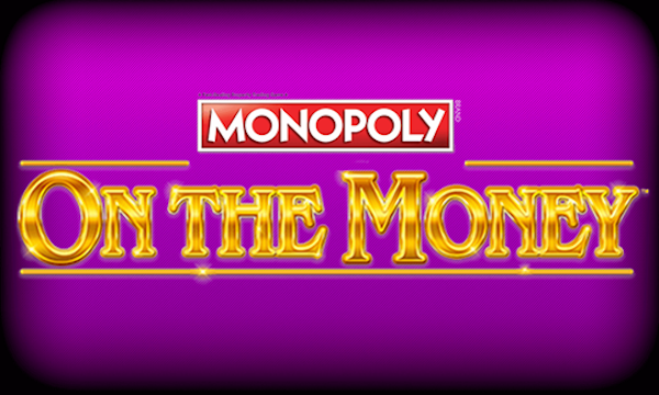 Monopoly on the money slot game logo