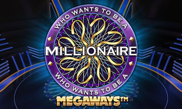 Who Wants To Be A Millionaire Megaways slot logo title card
