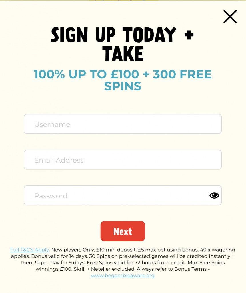 Kassu Casino Online Casino Sign-Up Image