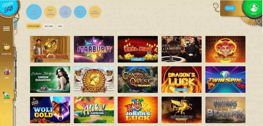 Casino Lab Games image