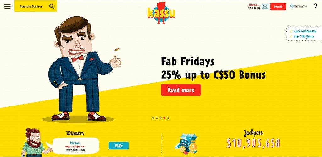 Kassu Casino Cashier Image