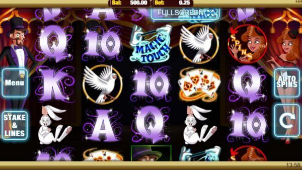 Magic Touch Slots Game Image